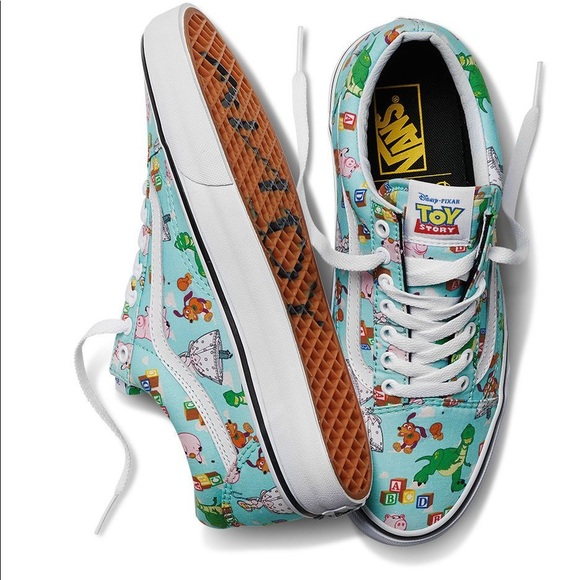 7fd1d92cfe Vans x Toy Story Old Skool Andy s Toys Sneakers